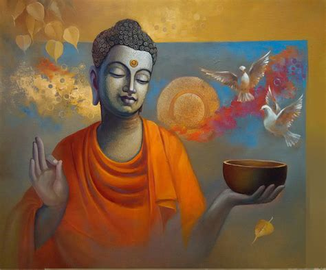 biography of indian artist buy painting buddha ananda artwork no 9908 by indian