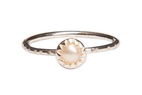 pearl stackable ring pura vida bracelets