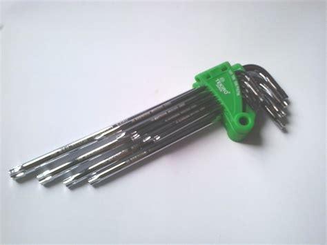 Kunci L Bintang Eceran jual kunci l set bintang 9pcs tekiro klikteknik