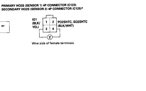 02 civic o2 sensor wiring diagram wiring diagram
