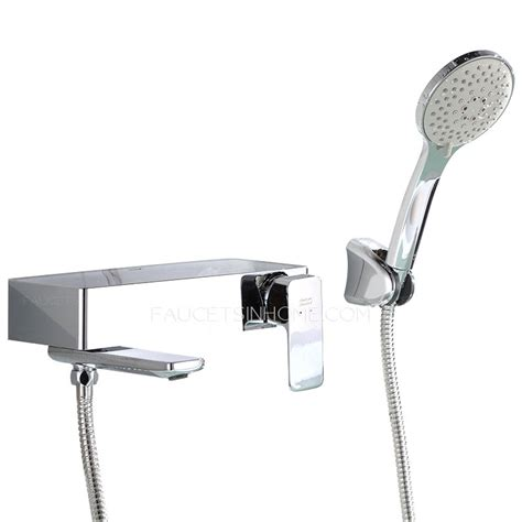 held shower for bathtub faucet american standard chrome brass wall mount bathtub faucet
