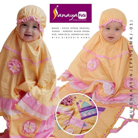 Sajadah Anak By Blitoss Collection sanaya collection mukena anak mukena terusan
