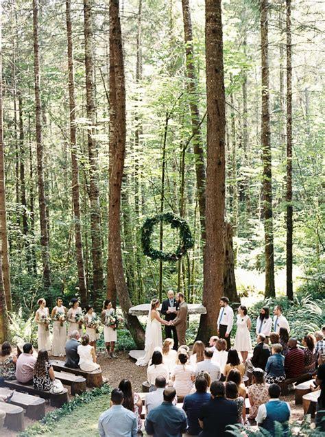 beautiful forest wedding venues near seattle - Wedding Venues Washington