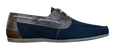 Decks Shoes Aydera Suede Series stratton mens leather suede boat deck shoes navy at galaxysports co uk
