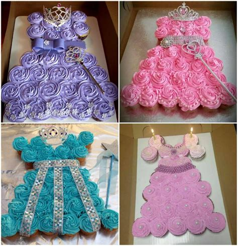 princess pull  cake  perfect   party  whoot