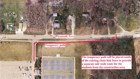 plymouth avenue trail crossing modification update news