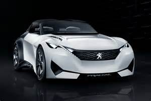 Peugeot Coupe Convertible Peugeot S New Fractal Coupe Hatch Convertible Concept In