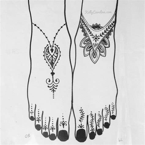 henna foot tattoo designs tumblr boho henna design for the henna mehndi design