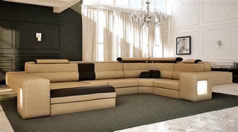 straight line sofa designs italian design modern sectional sofa honey tos lf 4001 honey