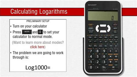 calculator antilog how to use logarithms on a sharp scientific calculator
