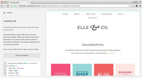 5 Easy Ways To Customize Your Squarespace Website Squarespace Change Template