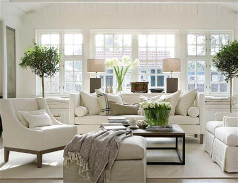 Modern White Home Decor 22 cozy traditional living room indoor plant modern white decor whg