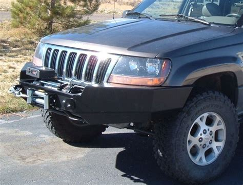 Jeep Wj Winch Front Winch Bumper Jeep Grand Wj 99 04