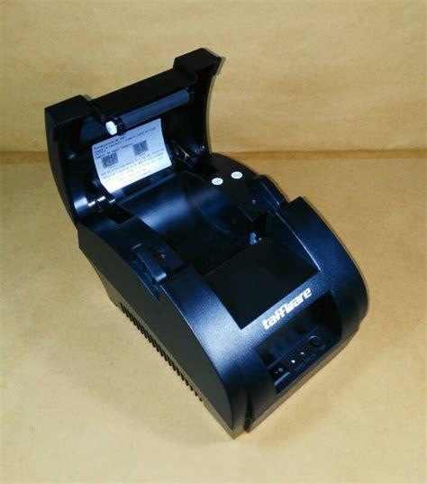 Printer Kasir Thermal 58 Usb jual printer kasir thermal usb 58mm taffware pos 5890k active store