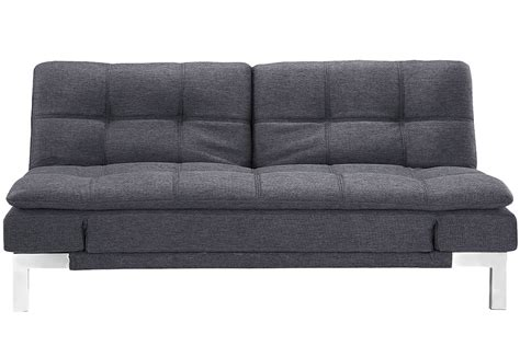 simple modern sofa simple modern futon sofa bed grey boca futon the futon shop