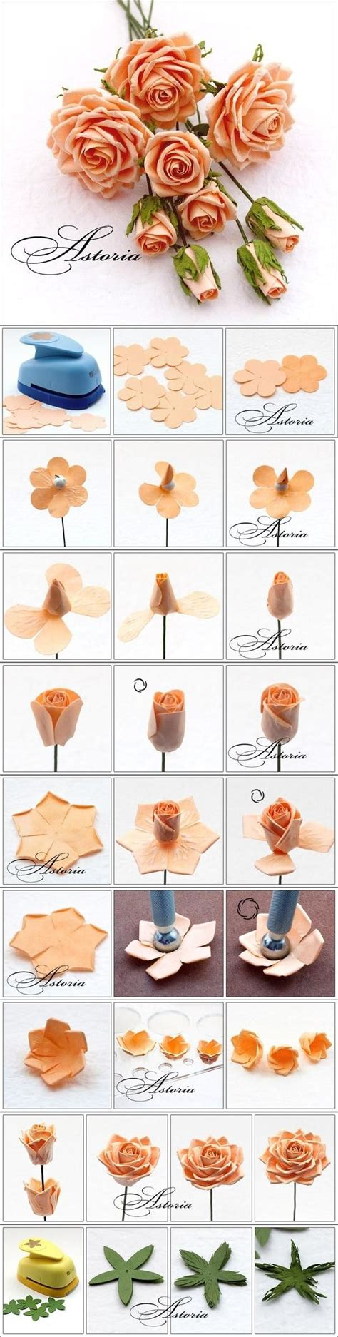 Handmade Flowers From Paper And Fabric - 17 best images about cards flowers handmade on