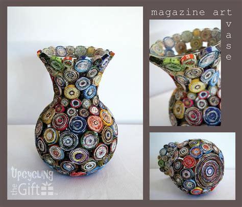 Magazine Vase Diy by Best 25 Paper Vase Ideas On Origami Tutorial