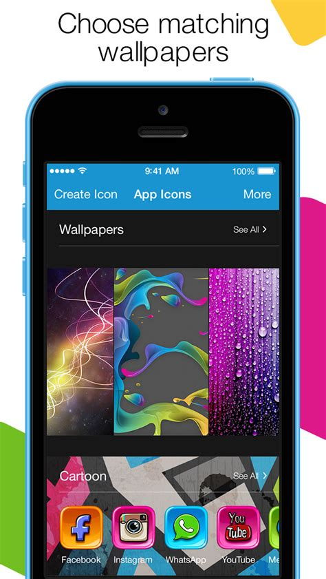 app store themes iphone app icons custom shortcuts themes wallpapers ios