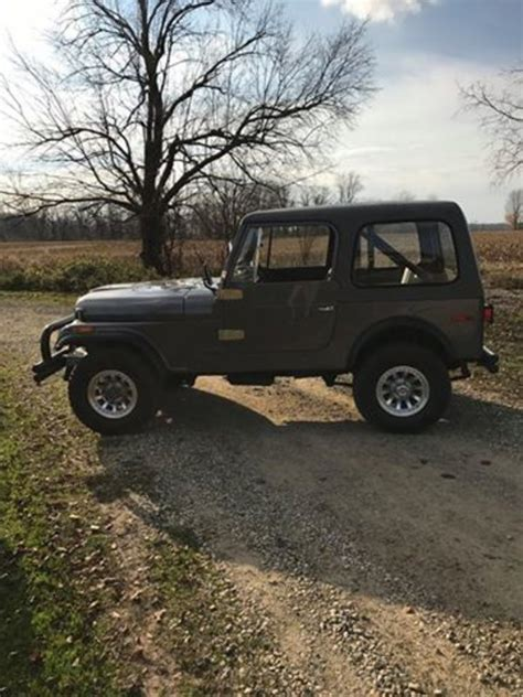 Jeep Cj For Sale By Owner 1977 Jeep Cj 7 For Sale In Litchfield Michigan Car
