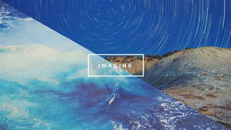 canva wallpaper blue sky ocean nature creative desktop wallpaper