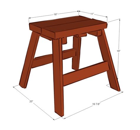 wooden stool plans woodwork stool designs woodproject