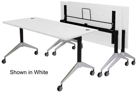 flip top bench flip top training tables in maple white mocha or cherry