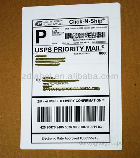 ebay shipping label template a4 paper shipping labels for ebay usps ups fedex