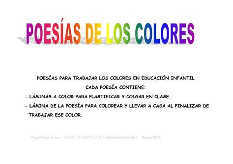 preguntas sobre gloria fuertes calam 233 o poes 205 as de los colores para infantil