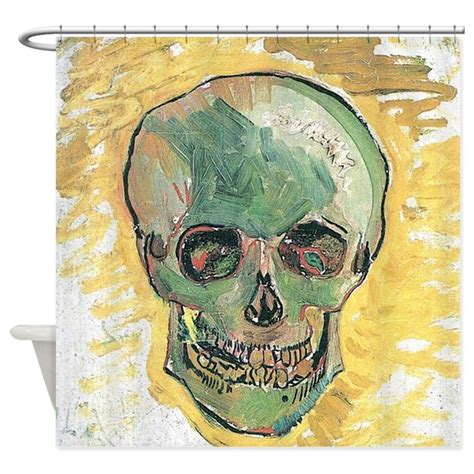 vincent van gogh 3822812188 vincent van gogh skull shower curtain by iloveyou1