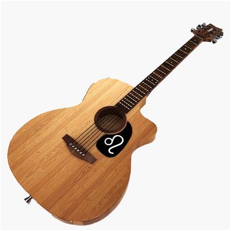 Gitar Classic Yamaha C 40 Original 3d model classical guitar