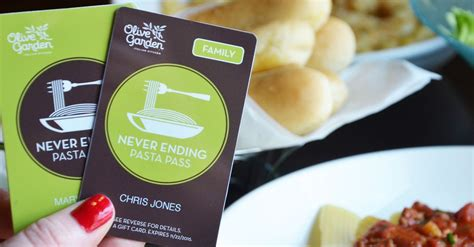 olive garden 2 for 1 get your stretchy olive garden s never ending pasta pass returns