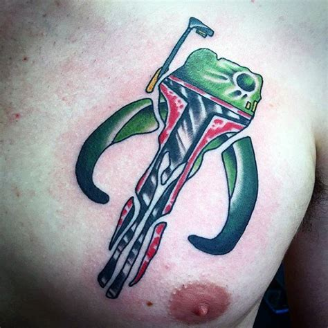 mandalorian tattoo 40 mandalorian designs for wars ink ideas