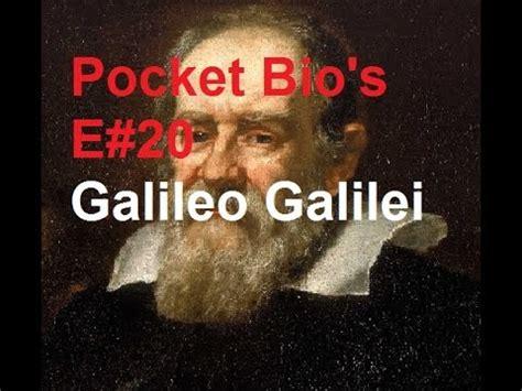 galileo galilei biography youtube pocket bio s e20 galileo galilei 1564 1642 youtube
