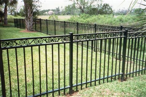 Ideas For Garden Fencing Decorative Metal Garden Fencing Style Fence Ideas