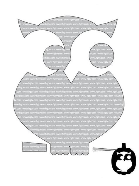 printable owl pumpkin patterns the creative cubby pinspiration friday pumpkin carving
