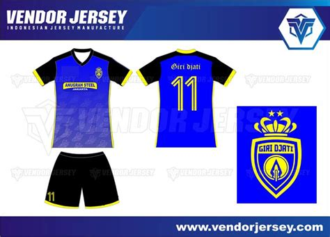 Baju Bola Desain Sendiri pembuatan kaos futsal printing pesanan dari jakarta vendor jersey