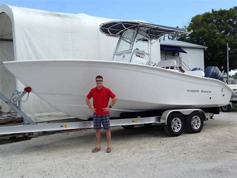 boat horn name 2014 cape horn 24xs new boat the hull truth