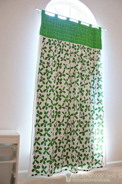 diy curtains with lining gathered top panel curtains with blackout lining make it