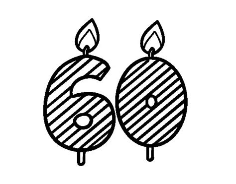 60 Coloring Page by 60 Years Coloring Page Coloringcrew