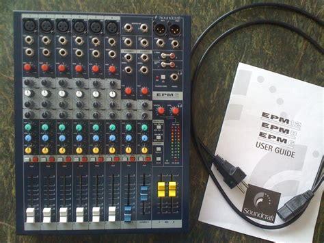 Soundcraft Epm 6 soundcraft epm6 image 349995 audiofanzine
