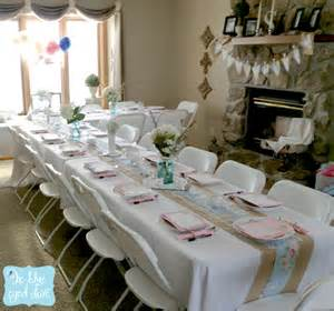bridal shower table decorations a shabby chic bridal shower part 1 the blue eyed dove