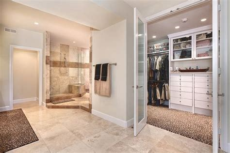 bathroom walk in closet designs master bathroom walk in closet bathroom ideas pinterest