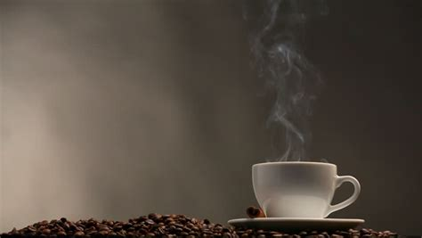 Espresso in a cup footage   Stock clips & videos
