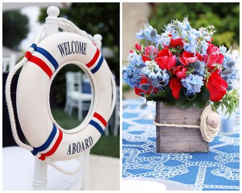 Nautical Baby Shower Decorations by Nautical Baby Shower Inspired By This