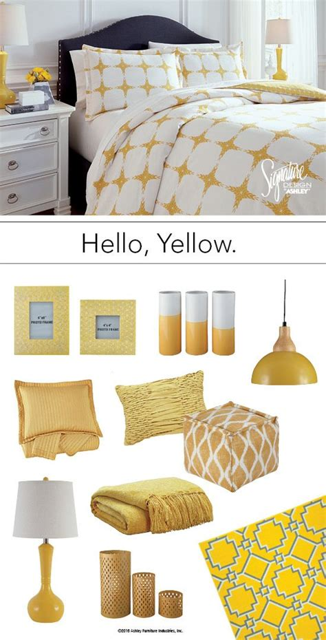 Yellow Accessories For Bedroom by Yellow Bedroom Accessories Home Design
