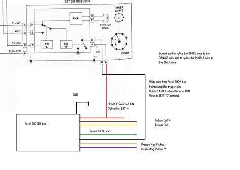 wiring diagram for and accel distributor wiring wiring