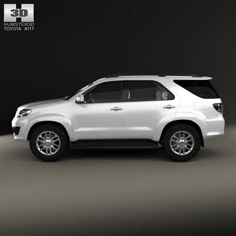 toyota fortuner 2013 toyota fortuner with hq interior 2013 3d model humster3d