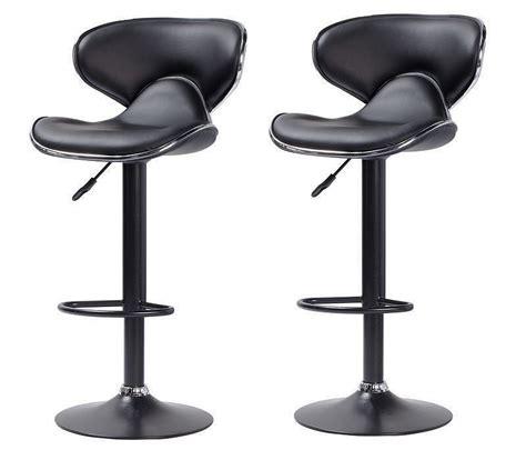 Tabouret de bar noir cobra   Chaise de bar   Tabouret de