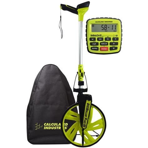 Measuring Wheel Digital Mwd300 calculated industries 12 5 in digiroller plus iii digital measuring wheel 6575 the home depot