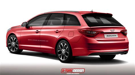 Southwest Kia I20 All New 2015 Hyundai Sonata Wagon Rendered Could Become